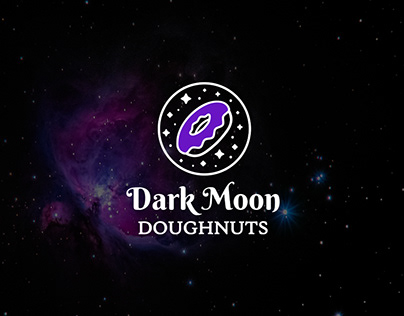 Dark Moon Doughnuts - Visual Identity