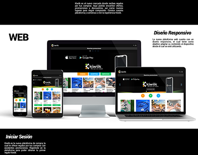 Kiwiik XP/ Diseño Web