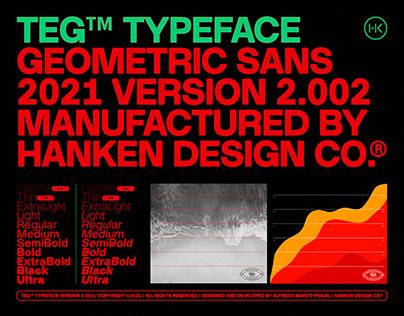 TEG™ Typeface