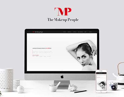 Makeup people - Website design to find makeup artists