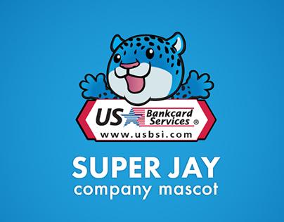 Super Jay Company Mascot