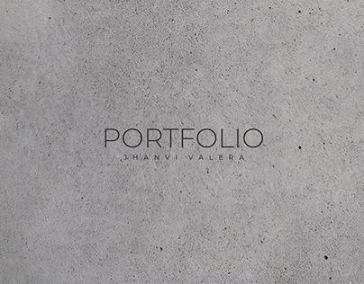 Interior design undergraduate portfolio 2021