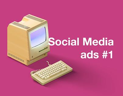 Social Media Ads. #1