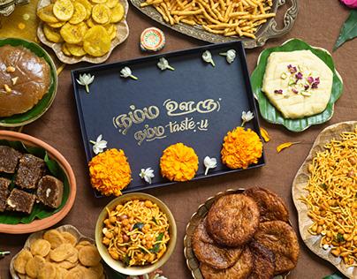SweetKadai Diwali Gift Box Shoot