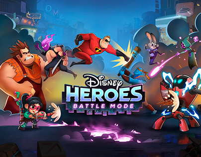 Disney Heroes: Battle Mode - UI/UX Design