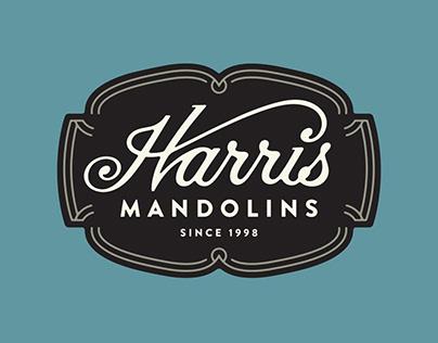 Harris Mandolins Branding