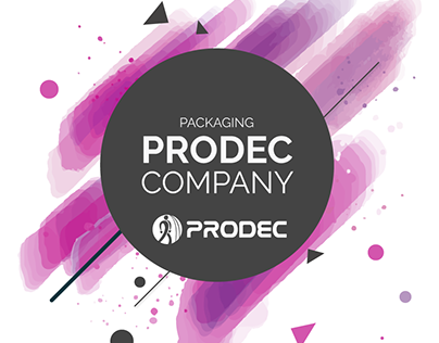 Packaging For Prodec Company Paint