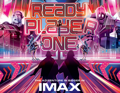 OFFICIAL READY PLAYER ONE IMAX POSTER