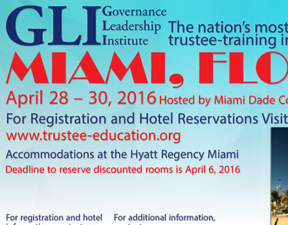 GLI ads for our Trustee Quarterly Magazine.