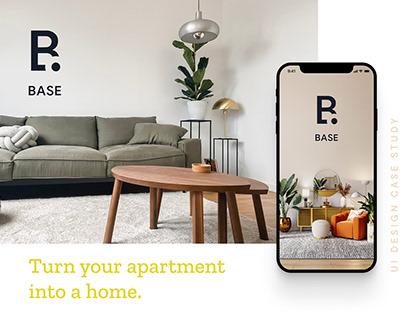 Base — interior design shop app