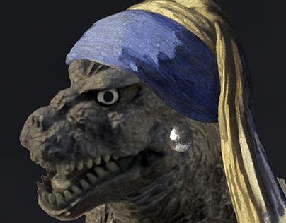 Godzilla Art History
