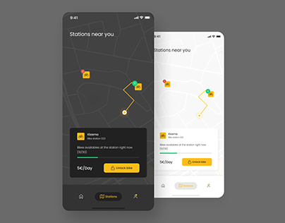 Daily UI Challenge #029 - Map
