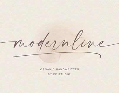 FREE | Modernline Organic Handwritten Script