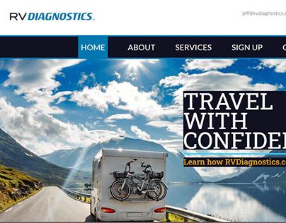 RV Diagnostics - Website + Logo