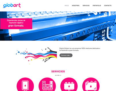 Sitio Web Globart