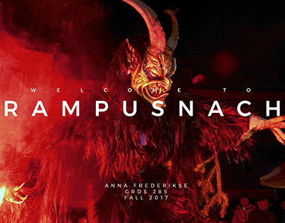 Krampusnacht Event Branding