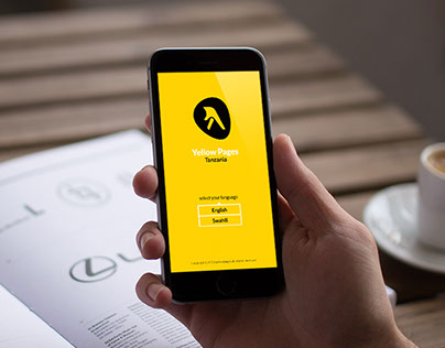 Yellow Pages Mobile App : Tanzania (UI/UX)