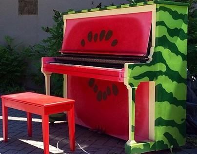 The Watermelon Piano