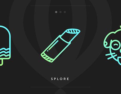 Splore | Icons & Animations