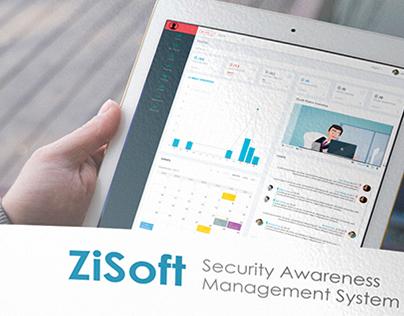 ZiSoft Brochure and website design