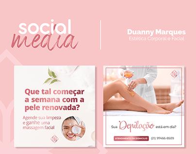 Social Media - Duanny Marques Esteticista