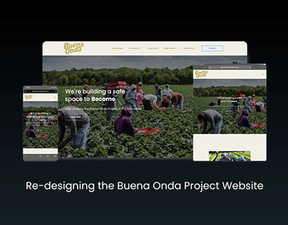Re-designing the Buena Onda Project site