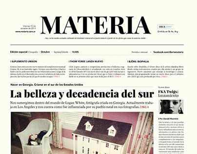 Newspaper | Periódico Materia
