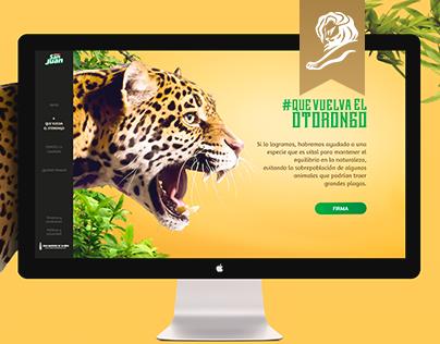 Where´s my Otorongo? - Website [Bronze in Cannes Lions]