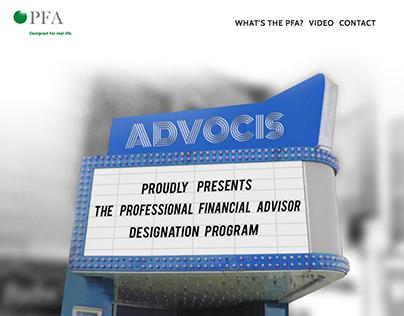PFA Launch campaign