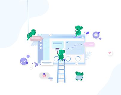 Koalect | UI Design