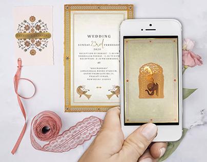 Royal Wedding E-Invite for HN Invitations & Design