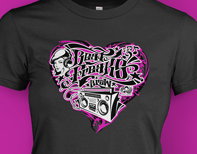Beat Freaks // T-Shirt Design Pitch