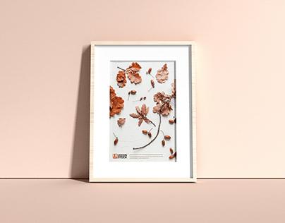 Free Elegant Frame Mockup PSD