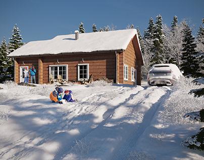Nordic Cabin #9