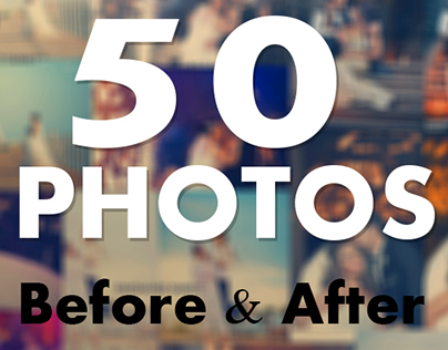 50 Photos - Before&After