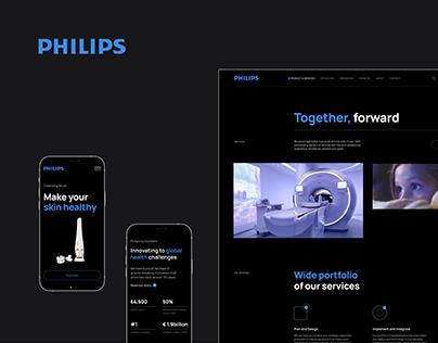Philips — Corporate Website