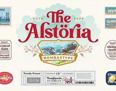 Alstoria Typeface