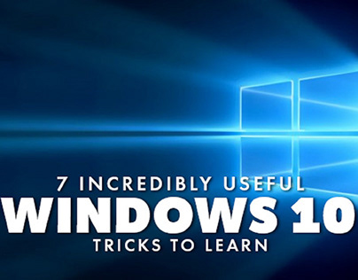 7 Incredibly Useful Windows 10 Tricks to Learn