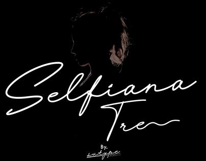 Selfiana Script Style