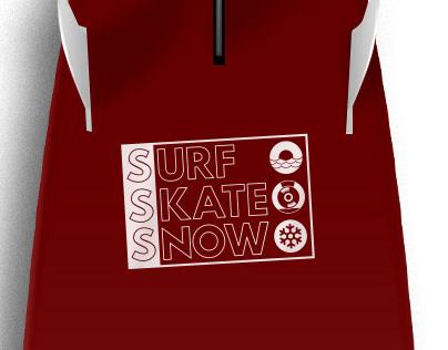 Surf skate snow | design