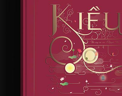 The Tale of Kiều | Book Cover Illustration