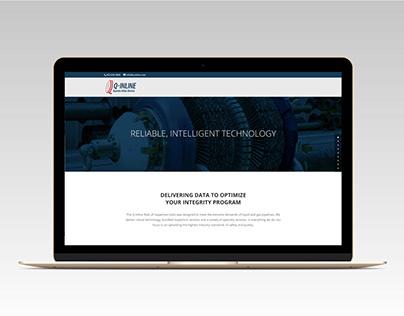 Q-Inline Quanta Inline Devices Website Landing Page