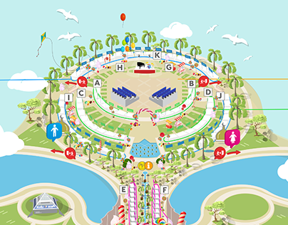 Candy Land Event Map - Khobar Sea Front