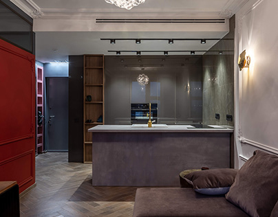 MARGO | apartment in Moscow, Russia, 2018. completed.