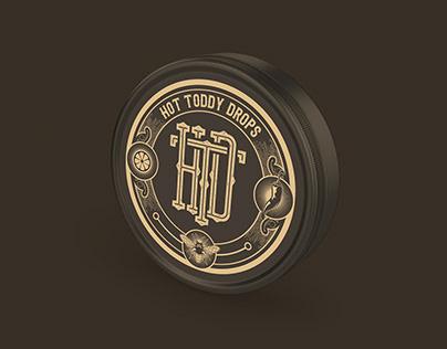 Classic Candy Tin Label Design