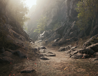 Unreal Engine 4 Environment -Ravine