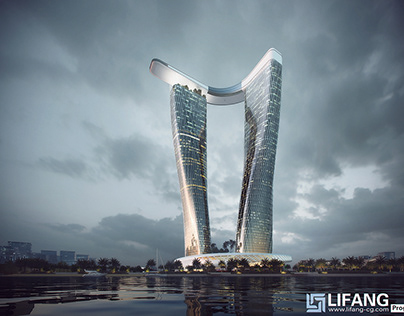 LiFang New Coming high rise-3D renderings