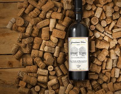Grandianni Wines Label Design