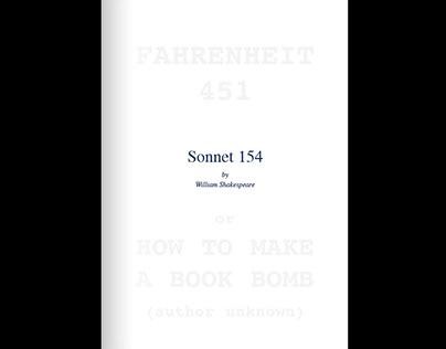 Sonnet 154 / Fahrenheit 451