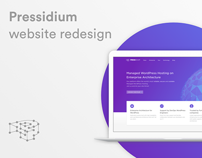Pressidium, marketing website redesign